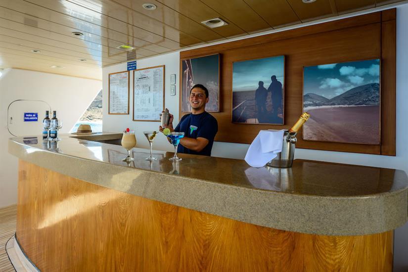 Bar area - Galapagos Seaman Journey