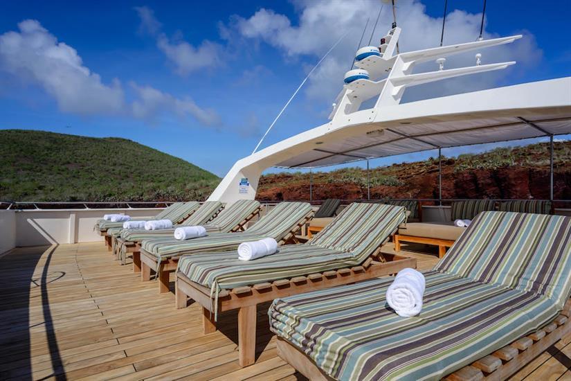Sun Deck - Galapagos Seaman Journey