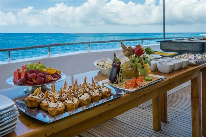 Buffet Dining - Galapagos Seaman Journey
