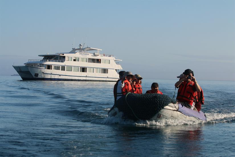 Panga Ride - Millennium Yacht Galapagos