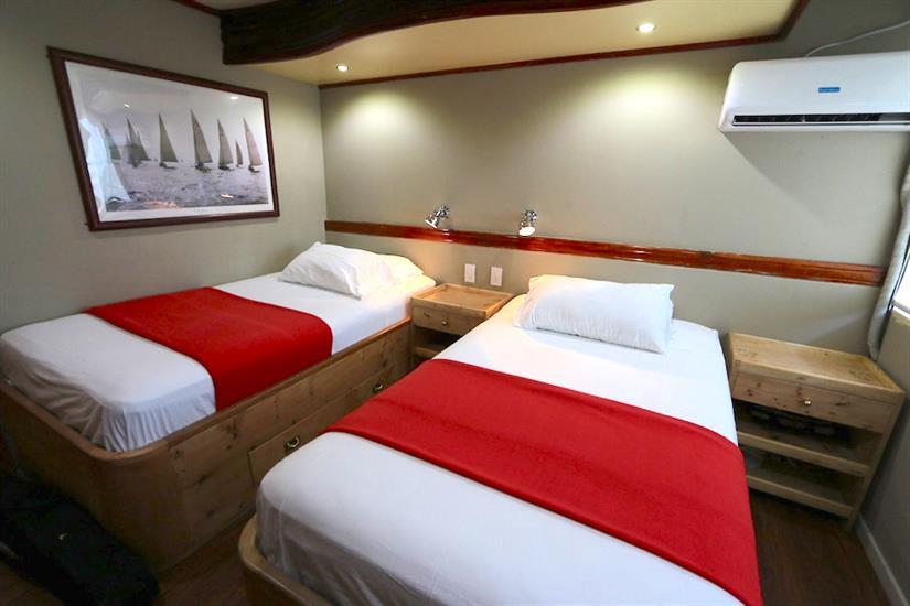 Twin cabin - Millennium Yacht Galapagos