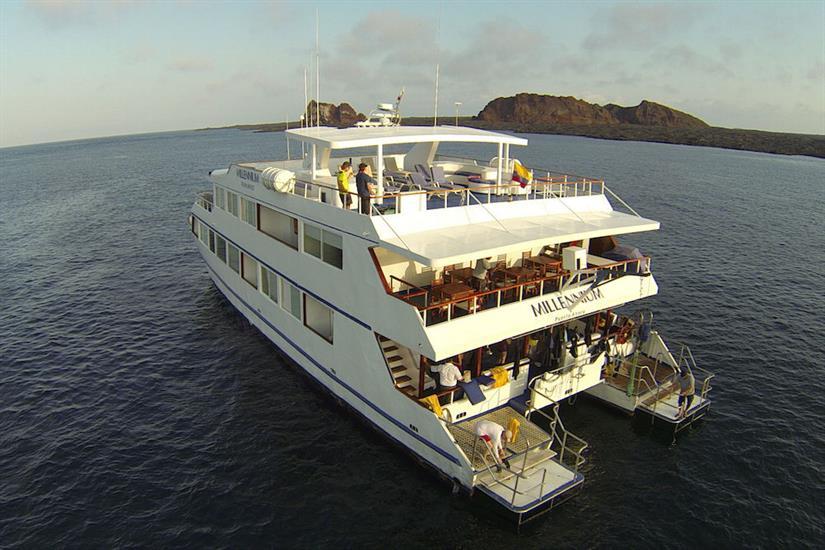 Millennium Yacht Galapagos
