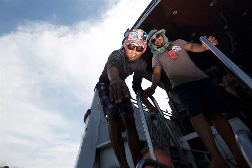 Helpful Boat Crew - MV Hallelujah Thailand