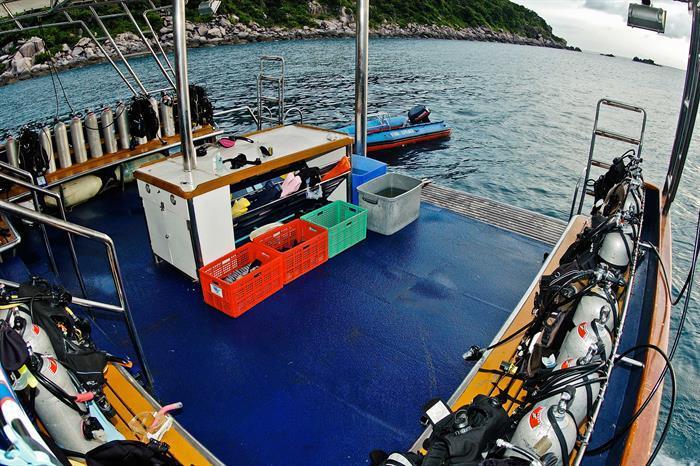 Dive Deck - Sawasdee Fasai Liveaboard