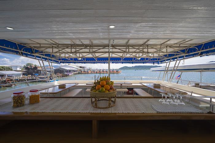 Dining Area - MV Sawasdee Fasai Thailand