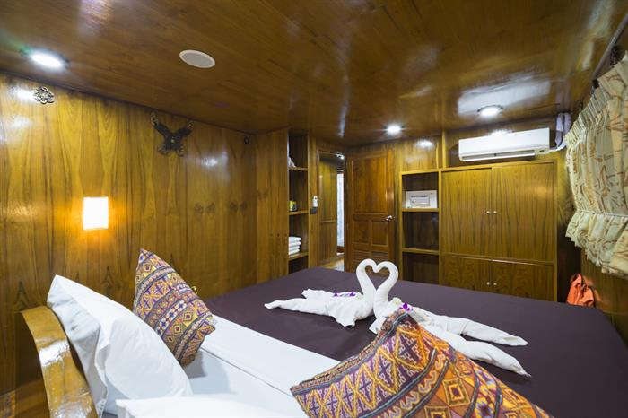 Master Cabin - MV Sawasdee Fasai Thailand