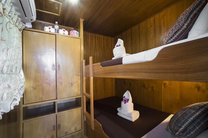 Budget Cabin - MV Sawasdee Fasai Thailand