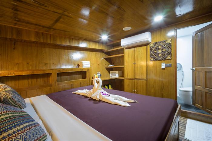 Standard Double Cabin - MV Sawasdee Fasai Thailand