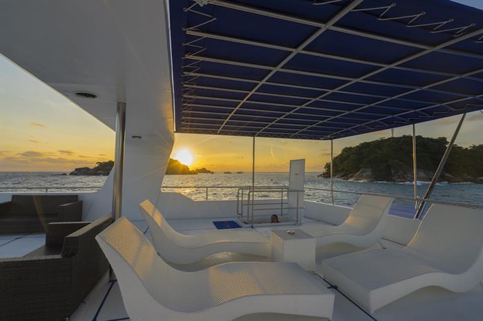 Sun Deck - MV Sawasdee Fasai Thailand