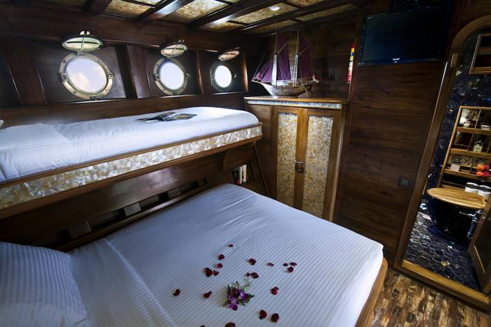 Deluxe Cabin - Manta Mae Indonesia