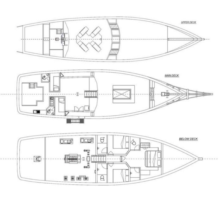 Manta Mae Deck Plan floorplan