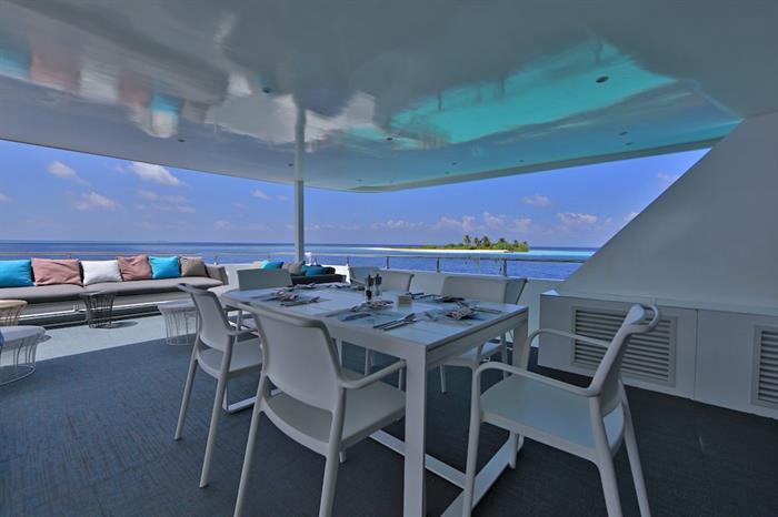 Al Fresco Dining Area - Azalea Maldives