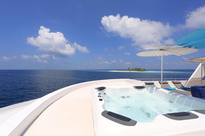Hot tub - Azalea Maldives