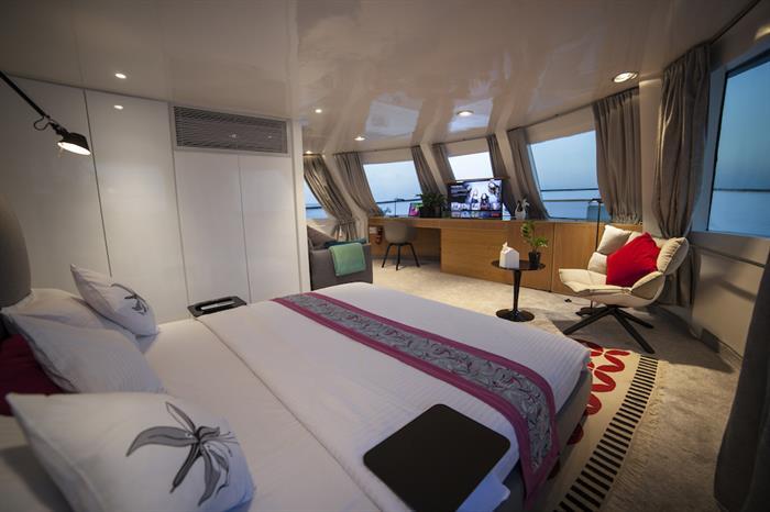 Master Suite - Azalea Liveaboard Maldives