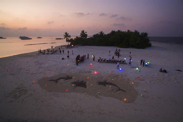 Maldives Beach BBQ