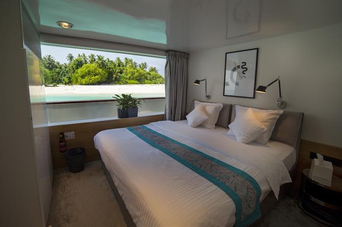 Ocean View Cabin - Azalea Liveaboard Maldives