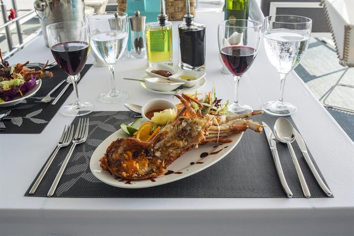 Fine Dining - Azalea Liveaboard Maldives