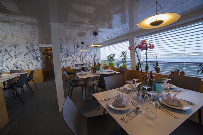 Dining Area - Azalea Liveaboard Maldives