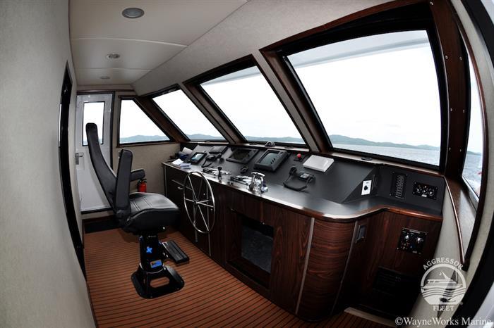 Captains Bridge - Roatan Aggressor