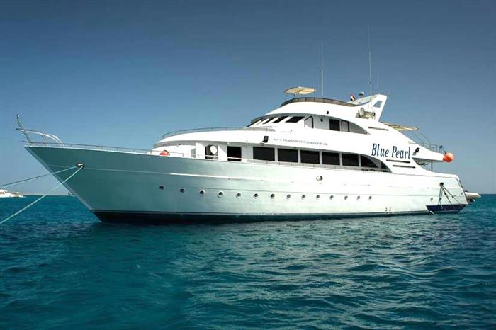 Blue Pearl Liveaboard diving in the Red Sea