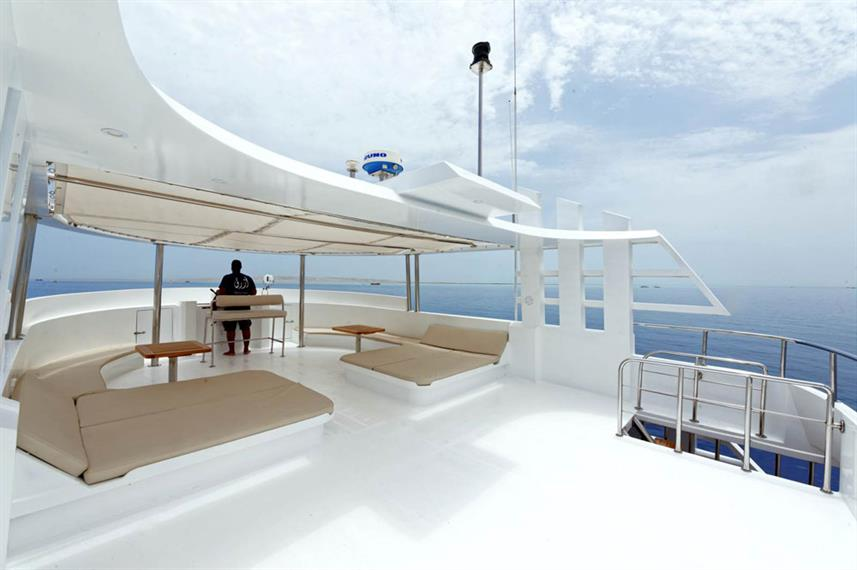 #deck - Blue Pearl Live Aboard