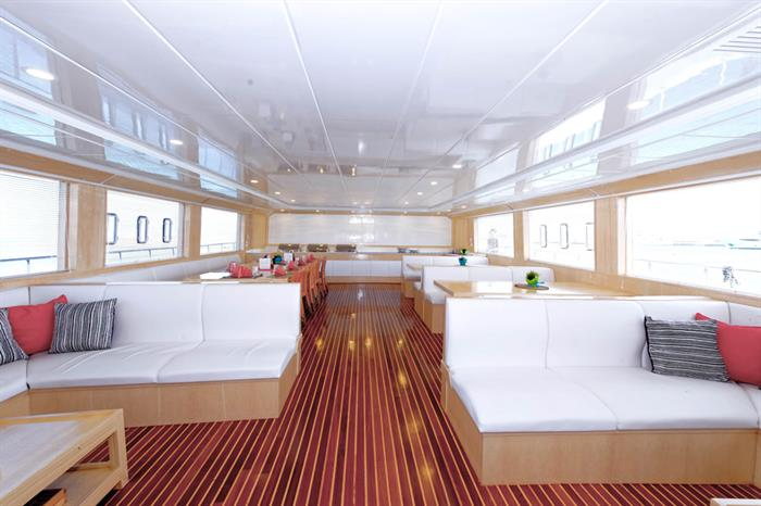 Restaurant - Blue Seas Liveaboard