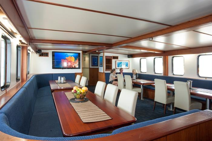 Dining Area - Spirit of Freedom Liveaboard