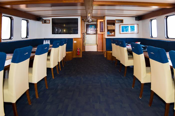 Dining Room - Spirit of Freedom Live Aboard