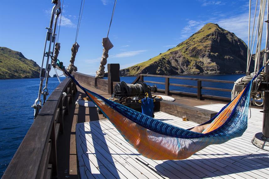 Relaxation aboard MSY Waow Liveaboard