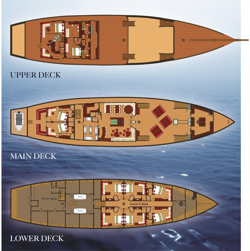 Waow Deck Plan floorplan