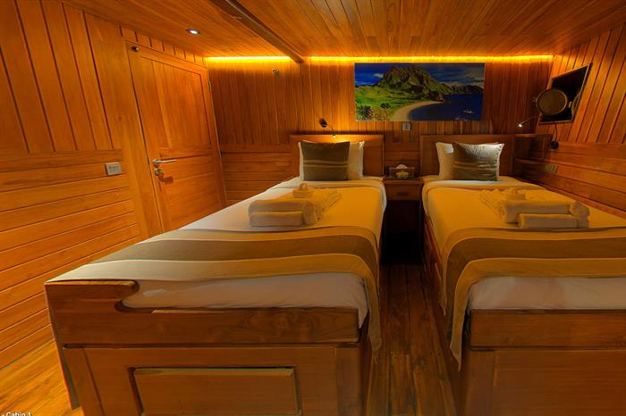 Cabin 1, twin or double cabin - Damai I