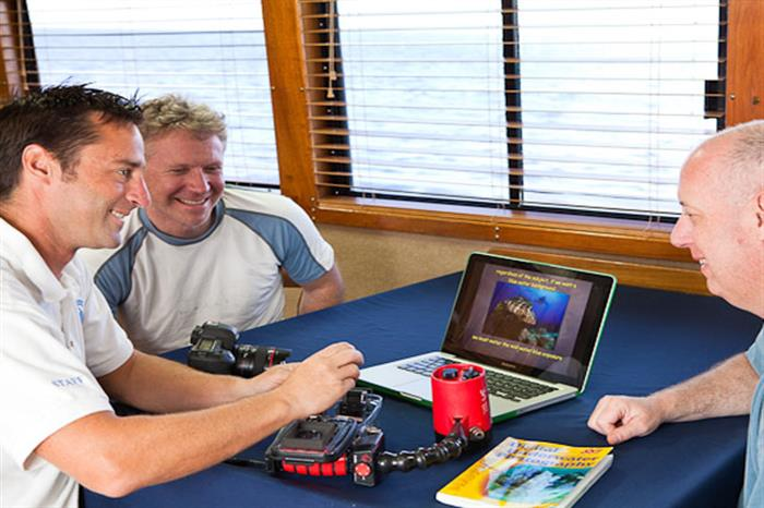 Belize Aggressor III Liveaboard shared computer