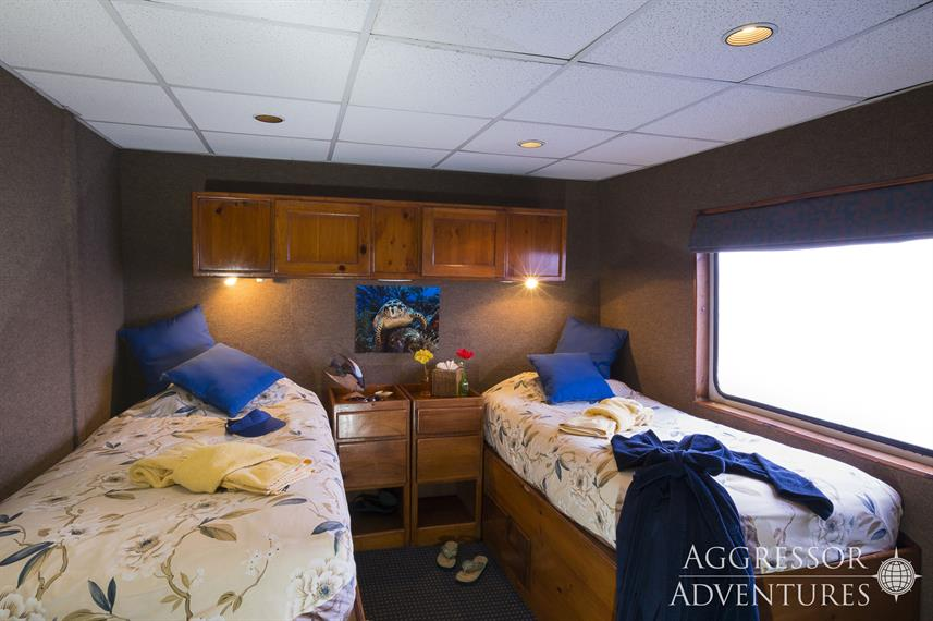 Cabine Deluxe - Belize Aggressor IV