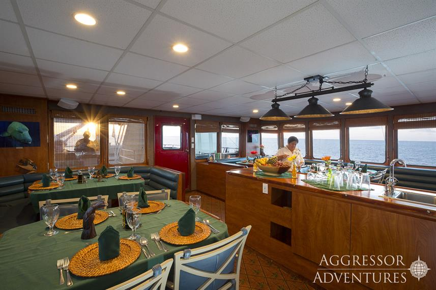Dining Room - Belize Aggressor IV