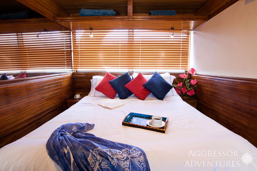 Master suite - Galapagos Aggressor III