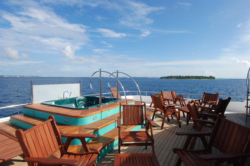 Aft Sun Deck - Emperor Orion Maldives