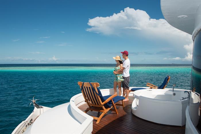 Jacuzzi Deck - Emperor Orion Maldives