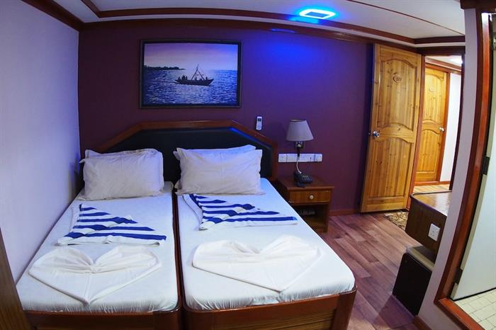 Twin Cabin - Emperor Orion Maldives
