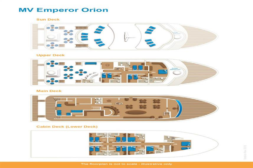 Emperor Orion Floor Plan floorplan