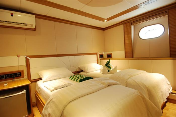Lower Deck Cabin - Emperor Virgo