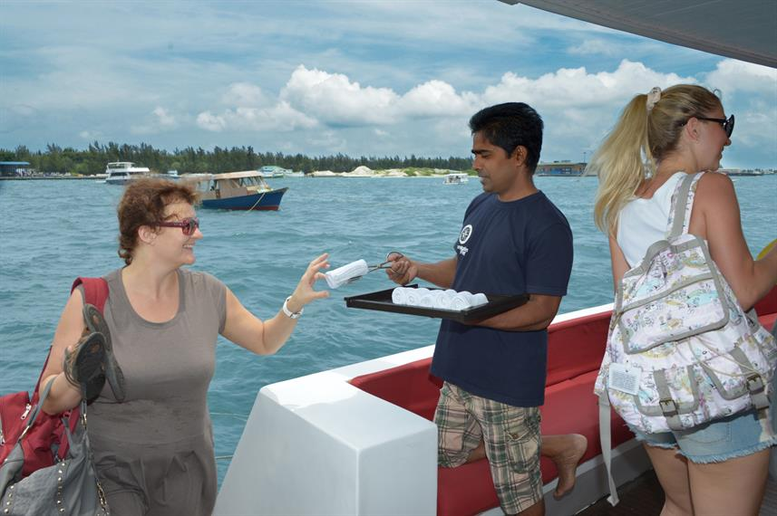 Welcome aboard the MV Leo Liveaboard Maldives