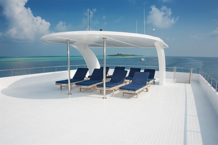Sun Deck - MV Leo Liveaboard Maldives