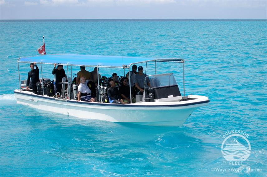 Dinghy's - Palau Aggressor II