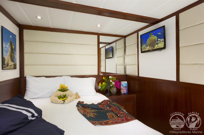 Red Sea Aggressor Liveaboard Master Stateroom