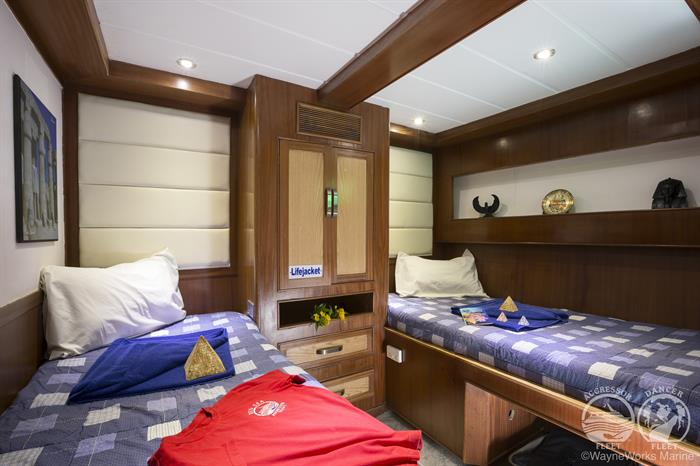 Red Sea Aggressor Liveaboard Deluxe Stateroom