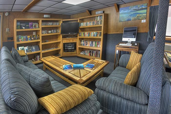Rock Islands Aggressor Liveaboard Saloon