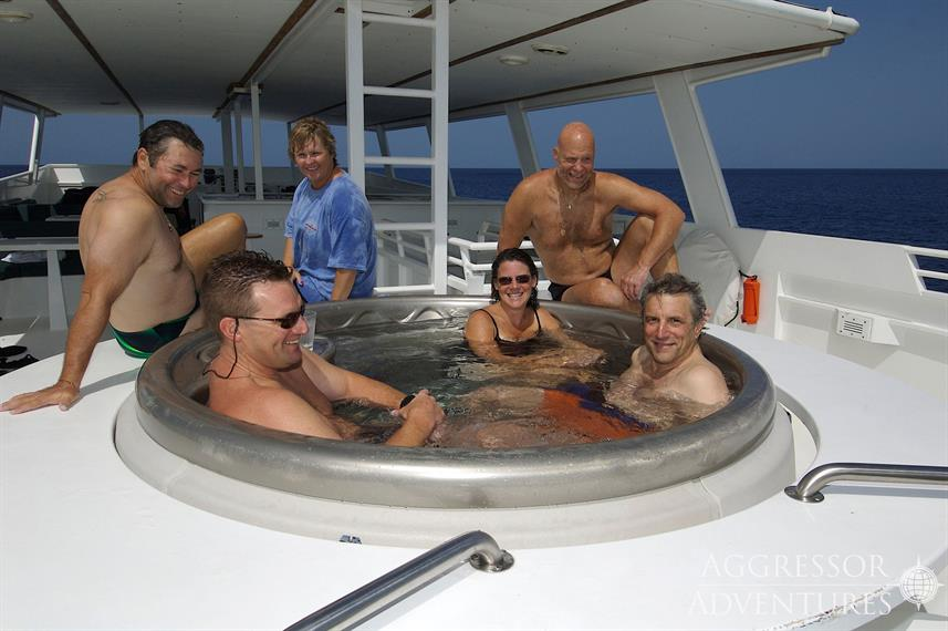 Hot Tub - Turks and Caicos Aggressor II