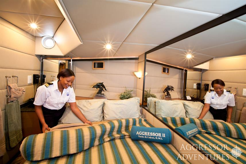 Master Cabin - Turks and Caicos Aggressor II