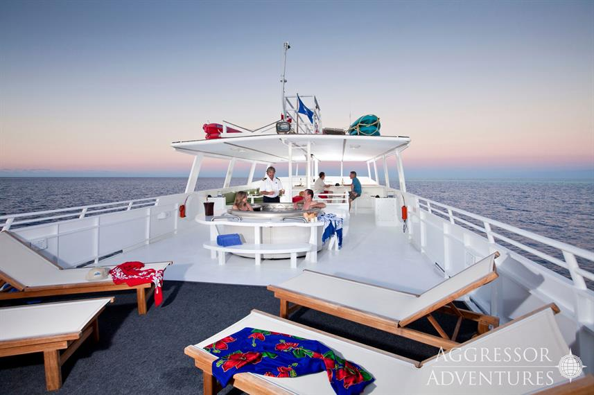 Sun Deck - Turks and Caicos Aggressor II