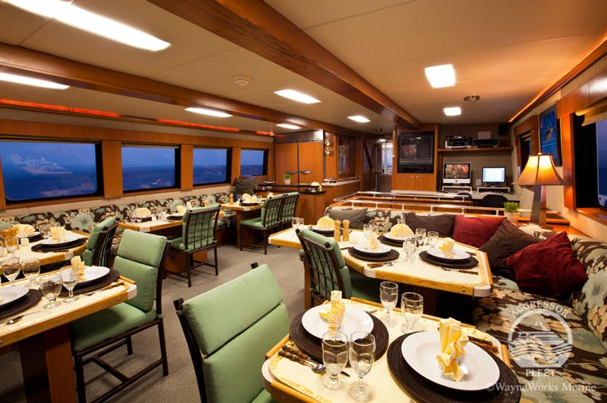 Dining Room - Turks and Caicos Aggressor II